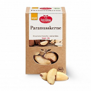 Brazil nut kernels with entire shell, 200 g.